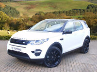 Land Rover Discovery Sport TD4 HSE LUXURY (white) 2015-09-03