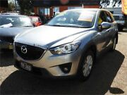 2013 Mazda CX-5 KE1031 MY13 Maxx SKYACTIV-Drive AWD Sport Silver 6 Speed Sports Automatic Wagon Minchinbury Blacktown Area Preview