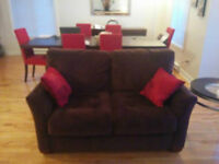 brown couches very good condition, must see!