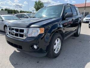 2012 Ford Escape XLT 4x4 (4 CYLINDRES)