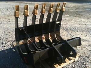 EXCAVATOR ROOT RAKE - CANADIAN BUILT - ALL SIZES AVAILABLE Prince George British Columbia image 3