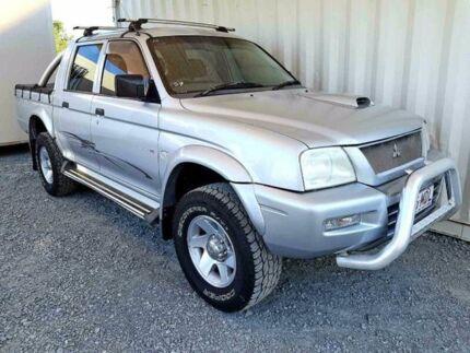 2005 Mitsubishi Triton MK GLX-R Silver Manual Utility