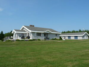 Waterfront Property with Guest House, 3306 Rte.530, Grande Digue