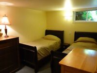 bright and beautiful basement apartment for rent