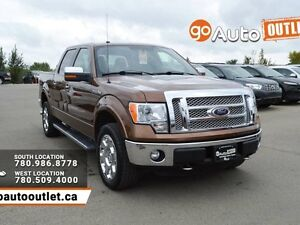 2011 Ford F-150 Lariat 4x4 SuperCrew Cab 5.5 ft. box 145 in. WB
