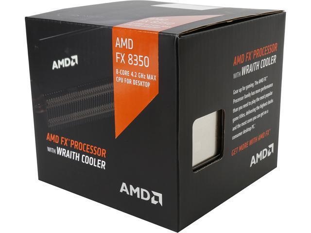 AMD FX-8350 Black Edition Octa-Core 4.0 GHz Desktop Processor FD8350FRHKHBX