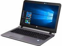 "HP 455 G2 PROBOOK 15.6"" LAPTOP - AMD A10 QUAD CORE, 8GB RAM, 120GB SSD, WINDOWS 10 PRO (NEW & BOXED)"