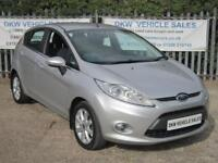 FORD FIESTA 1.25 ZETEC 5DR SILVER A/C 2009 (59) ONLY 38K FSH / LAST OWNER 2012!!