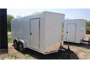 BEST PRICE ON 7X14 VNOSE CARGO TRAILERS