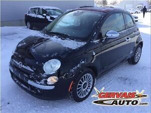 Fiat 500 C Convertible Lounge Cuir A/C MAGS 2014