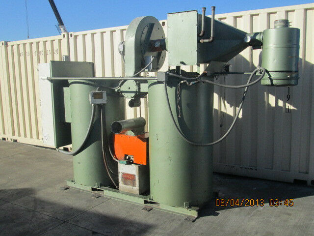 WALTON / STOUT MODEL WSD - 750 INDUSTRIAL DESSICANT HOPPER DRYER