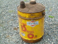 IRVING 5 GAL DIESEL IDO CAN