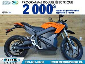 2017 ZÉRO MOTOCYCLES DS ZF6.5 41,74$/SEMAINE