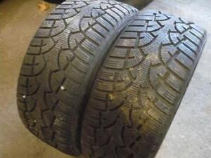 two 235-45-17 snow tires   $200.00