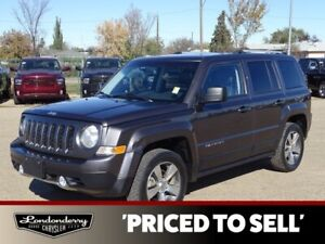 2016 Jeep Patriot 4WD HIGH ALTITUDE Accident Free,  Leather,  He