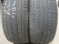 225 50 17 Bridgestone, Runflat, x2 A Pair, 5.5mm(152-156 Rayne Road,CM7 2QS)
