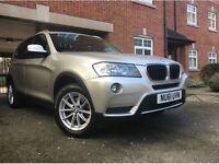 2012 BMW X3 XDRIVE20D SE AUTO GOLD DIESEL 4X4 SPORT
