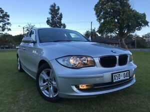 2008 BMW 118i E87 MY07 Silver 6 Speed Automatic Hatchback Somerton Park Holdfast Bay Preview