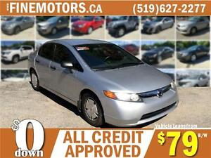 2008 HONDA CIVIC DX-G * LOW KM * POWER OPTIONS * MORE IN STOCK