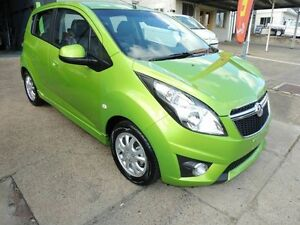 2015 Holden Barina Spark MJ MY15 CD Green 5 Speed Manual Hatchback Yeerongpilly Brisbane South West Preview