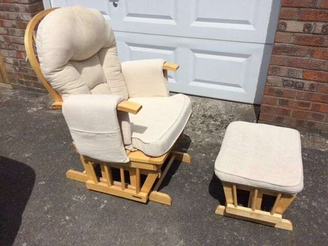 serenity nursing glider maternity rocking chair reviews. serenity nursing glider maternity chair with footstool \u2026(feeding chair) (natural) rocking reviews