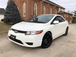 2008 Honda Civic Cpe EX-L - LEATHER - SUNROOF - CERTIFIED