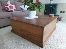 Trunk Coffee Table beautifully hand made in Australian Hard Wood.