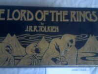 J.R.R. TOLKIEN'S 'THE LORD OF THE RINGS' COLLECTION. WAS £25 NOW £15