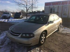 2004 CHEVROLET IMPALA LS - LEATHER - SUNROOF - HEATED SEATS