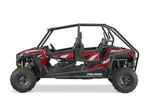 POLARIS RZR 4 900 EPS ROUGE COUCHER DE SOLEIL MAT 2016 DEMO