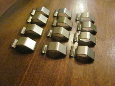 12- Code 3 Excalibur 2100 Rx2700 360 Mx7000 Lightbar Dome Cover Clips .10.00