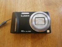 Panasonic Lumix TZ20 Digital Camera - Black (14.1MP MOS, 16x Optical Zoom) 3 inch Touchscreen LCD