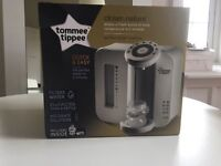 Tommy tippee bottle maker new condition