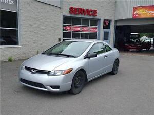 2007 Honda Civic Coupé DX-G (GARANTIE 1 ANS INCLUS)