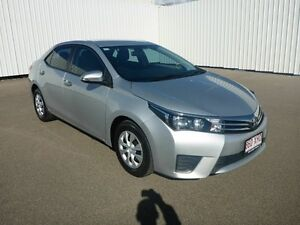 2014 Toyota Corolla ZRE172R Ascent S-CVT Silver 7 Speed Constant Variable Sedan Garbutt Townsville City Preview
