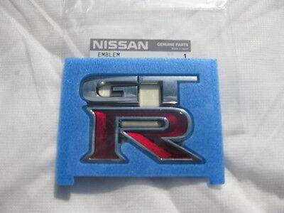 Nissan Skyline Rear GTR GT-R  Emblem/Badge Logo R35 Genuine
