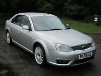 FORD MONDEO 2.2TDCi 155 2005 (55) ST SILVER / FSH 10 X STAMPS / NEW CLUTCH DONE!
