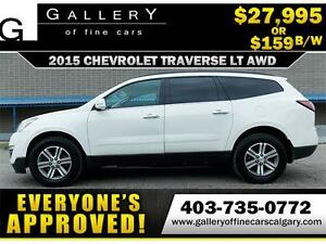 2015 Chevrolet Traverse LT AWD$159 BI-WEEKLY APPLY NOW DRIVE NOW