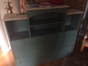 Want out of my living room: Single bed headboard