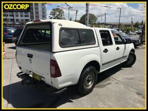 2007 Holden Rodeo RA MY07 LX White 5 Speed Manual