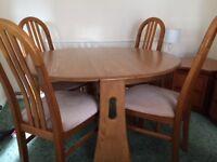 Ercol Windsor gate leg table £350