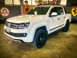 2015 Volkswagen Amarok 2H MY15 TDI420 Canyon (4x4) White 6 Speed Manual Dual Cab Utility Fyshwick South Canberra Preview