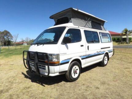 Toyota Hiace Camper – 4X4 – AUTO - DIESEL