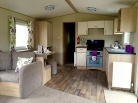 BRAND NEW STATIC CARAVAN FOR SALE NR SCARBOROUGH - 12 MONTH PARK - BEACH ACCESS - INCLUDES FEES!