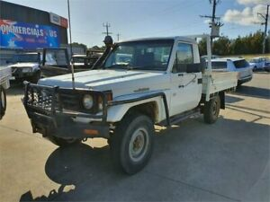 2006 Toyota Landcruiser HZJ79R (4x4) White 5 Speed Manual 4x4 Cab Chassis Lilydale Yarra Ranges Preview