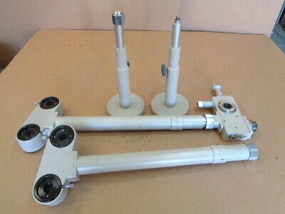 Nikon Dual Multi-head Teaching Microscope Parts Attachments Arms Beam Splitter
