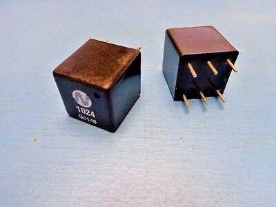 5 Newport 1024 Pulse Transformer 6 Pin Dip 2000vrms 1.2ct1ct 8.8mh 25pf