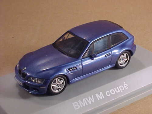 Schuco / BMW Collection #80 42 9 422 195 1/43 BMW E36/8 M Coupe, Estoril Blue