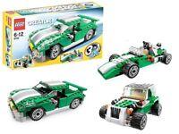 Lego Creator Speedor 3 in 1 kit plus mini 3 in 1 vehicle creator kit