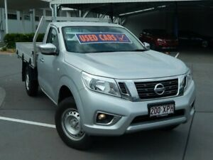 2017 Nissan Navara D23 S3 RX 4x2 Silver 6 Speed Manual Cab Chassis North Lakes Pine Rivers Area Preview